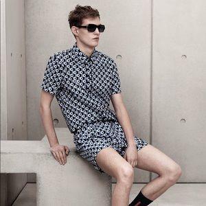 Marni for H&M Cotton Print Shirt   M